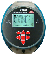 Vibration monitor complies to DIN 4150-3 for construction/mining industry