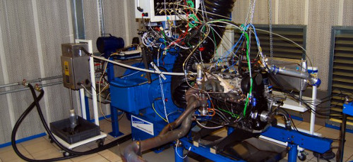 Typical Engine test system